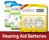 hearing aid batteries