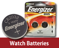 watch batteries button cell