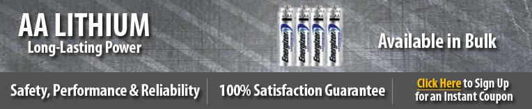 bulk aa lithium batteries, bulk lithium aa  batteries