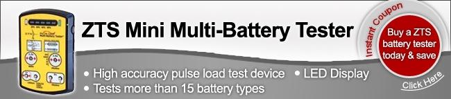 ZTS mini battery tester