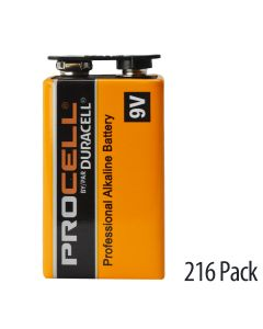 3 cases with 6 inner packs of 12 capped batteries